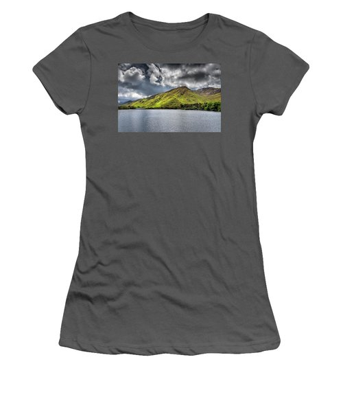 Emerald Peaks Women's T-Shirt (Athletic Fit)