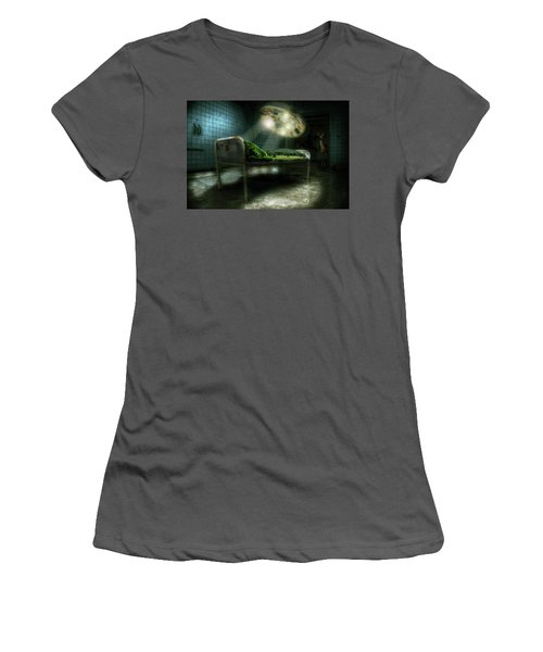 Women's T-Shirt (Junior Cut) featuring the digital art Emergency Nature  by Nathan Wright