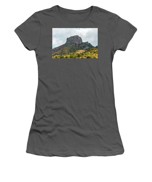 Emory Peak Chisos Mountains Women's T-Shirt (Athletic Fit)