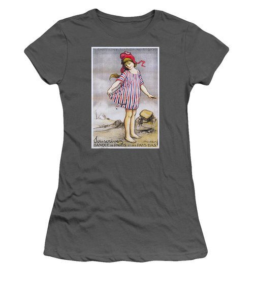 Emprunt National Propaganda Poster, 1920 Women's T-Shirt (Athletic Fit)
