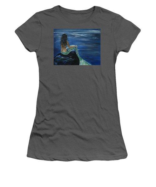 Enchanted Mermaid Women's T-Shirt (Athletic Fit)