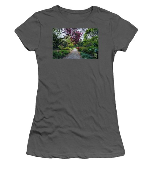 Enchanting Garden Women's T-Shirt (Athletic Fit)