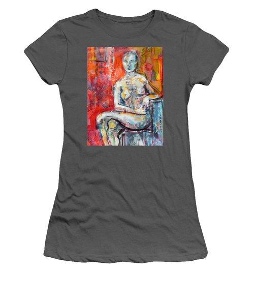 Energy In Stillness Women's T-Shirt (Junior Cut) by Mary Schiros