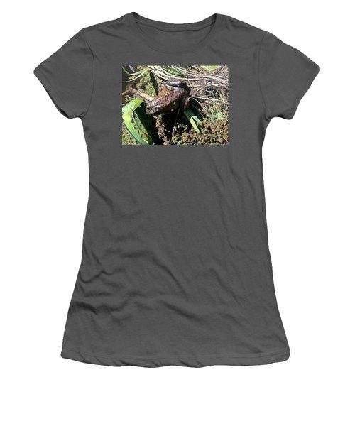 Enjoying Sunshine Women's T-Shirt (Athletic Fit)