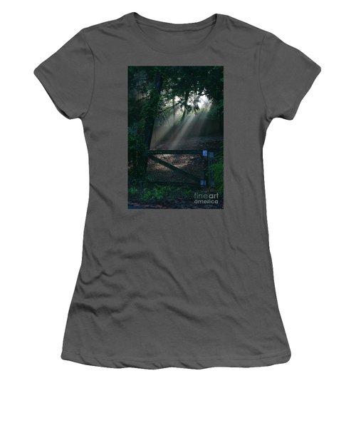Women's T-Shirt (Junior Cut) featuring the photograph Enlighten by Lori Mellen-Pagliaro