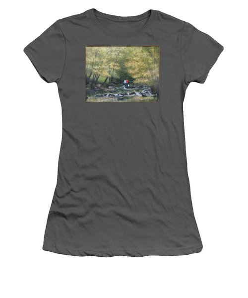 Eno River Afternoon Women's T-Shirt (Athletic Fit)