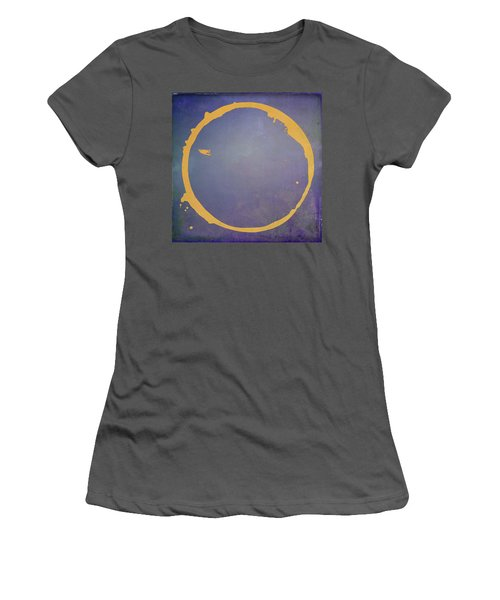 Women's T-Shirt (Junior Cut) featuring the digital art Enso 2017-4 by Julie Niemela