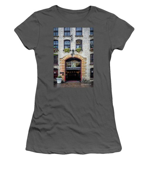 Women's T-Shirt (Junior Cut) featuring the photograph Enter by Perry Webster