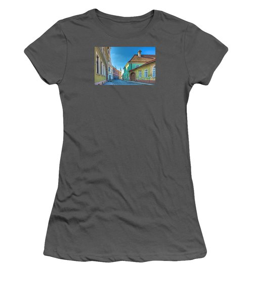 Esztergom Pastels Women's T-Shirt (Athletic Fit)