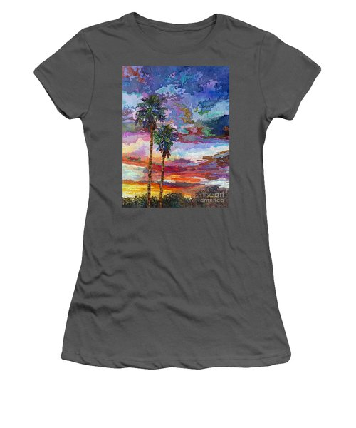 Evening Glow Women's T-Shirt (Athletic Fit)