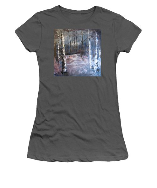 Evening Medow Women's T-Shirt (Athletic Fit)