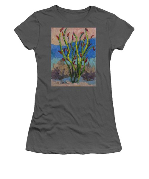 Evening Ocotillo Women's T-Shirt (Athletic Fit)