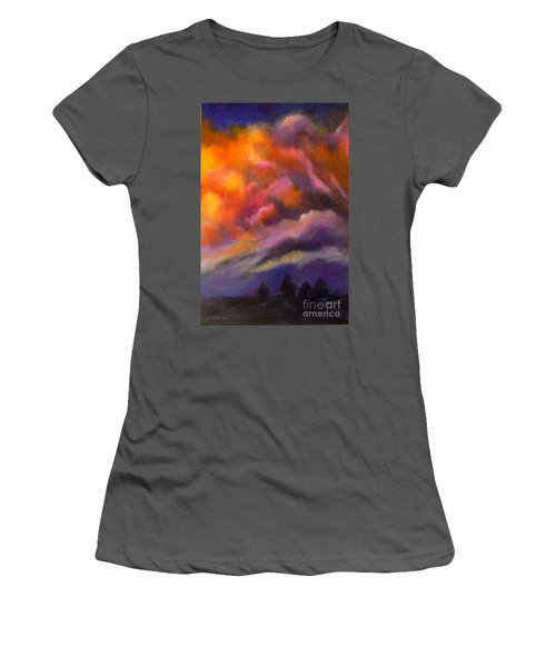 Evening Symphony Women's T-Shirt (Athletic Fit)