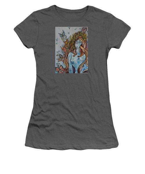 Evolve Women's T-Shirt (Junior Cut) by Claudia Cole Meek