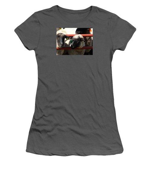 Ewe Gate Women's T-Shirt (Junior Cut) by J L Zarek