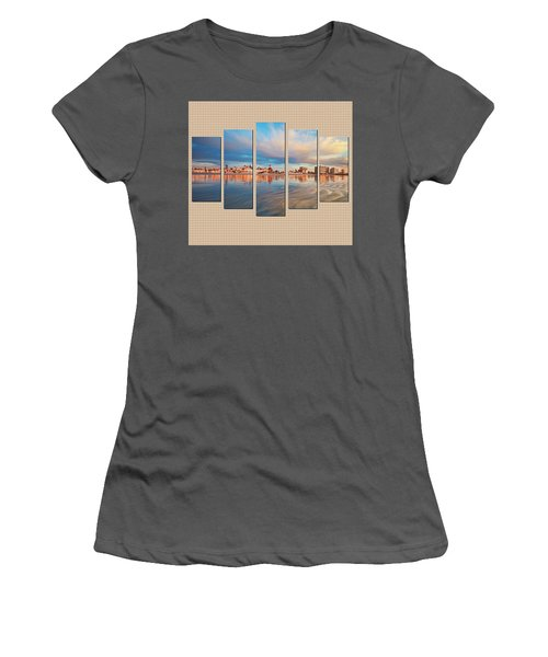 Example Panels Women's T-Shirt (Athletic Fit)