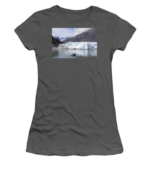 Exploring Glacier Bay Women's T-Shirt (Athletic Fit)