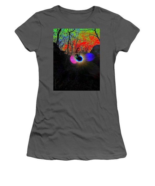 Eye Of Nature Women's T-Shirt (Athletic Fit)