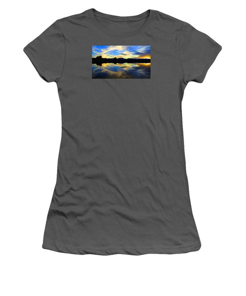 Eye Of The Mountain Women's T-Shirt (Athletic Fit)
