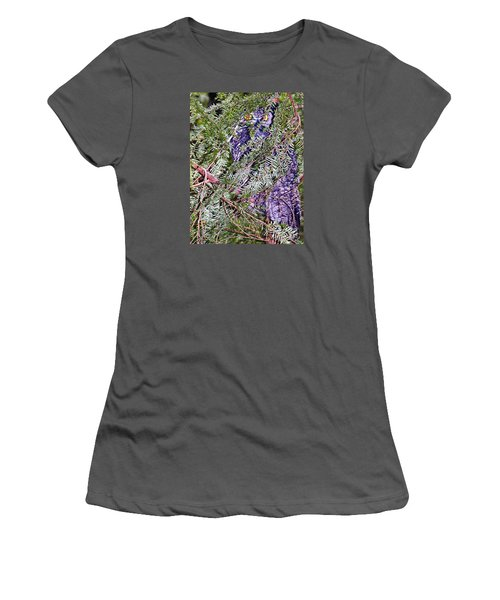 Eyes In The Forest Women's T-Shirt (Junior Cut) by Ansel Price