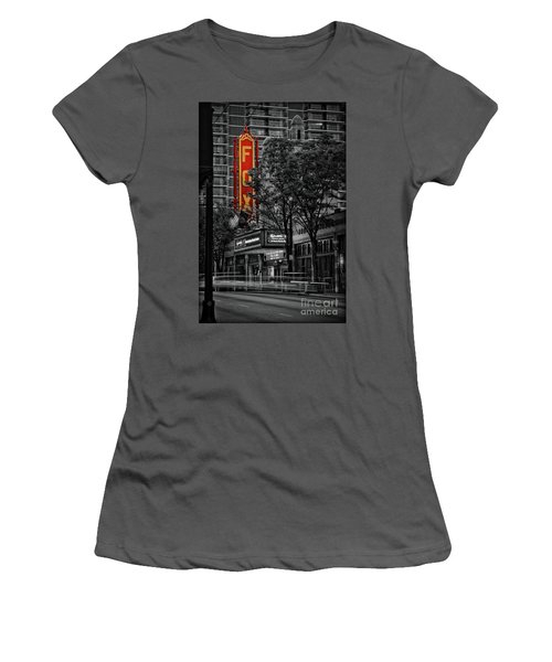 Fabulous Fox Theater Women's T-Shirt (Athletic Fit)