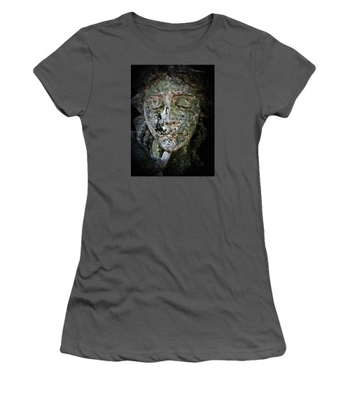 Face Of An Angel 11 Women's T-Shirt (Junior Cut) by Maria Huntley
