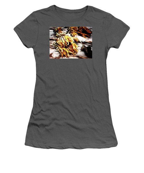 Faded Away Women's T-Shirt (Athletic Fit)