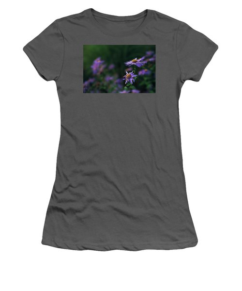 Fading Beauty Women's T-Shirt (Athletic Fit)
