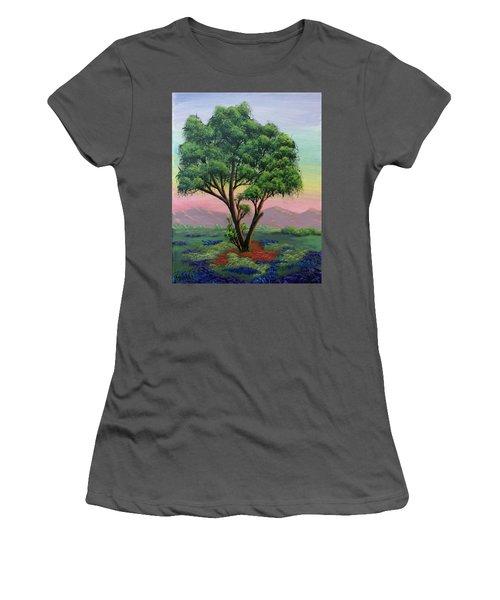 Fading Day Women's T-Shirt (Athletic Fit)