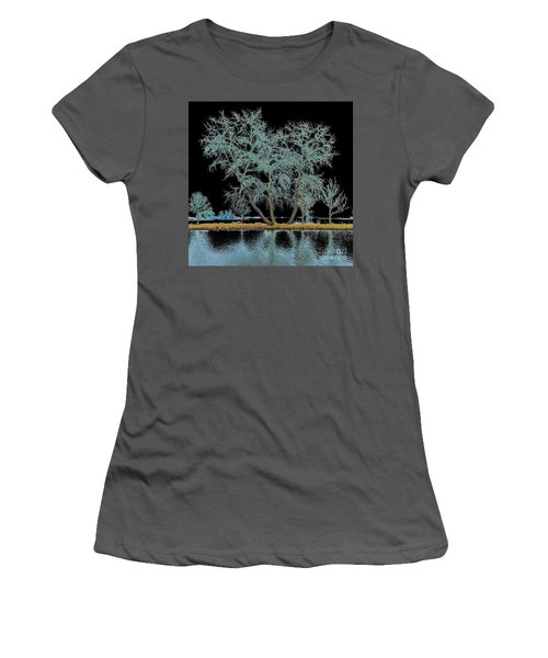 Fairy Tree-1 Women's T-Shirt (Athletic Fit)