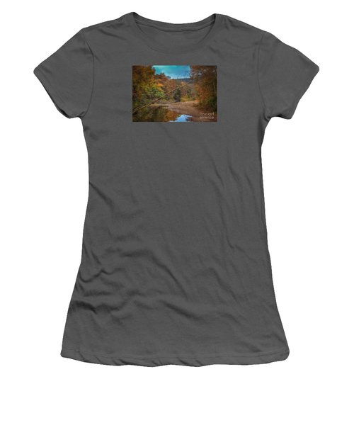 Fall At Barkers Gap Women's T-Shirt (Athletic Fit)