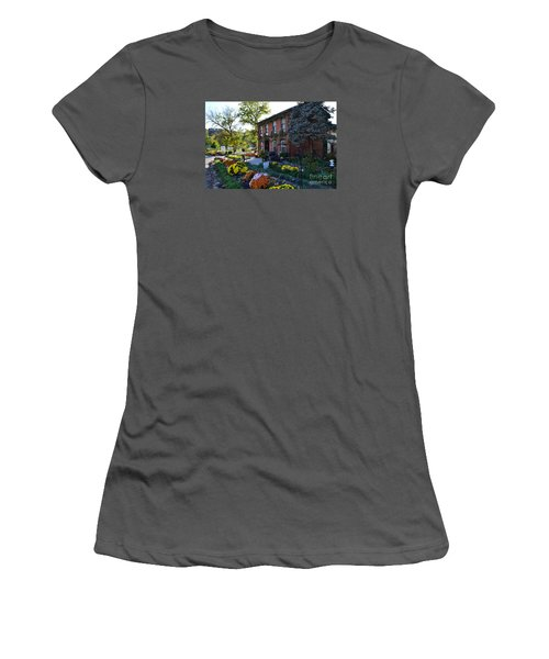 Fall At Lanier Winery In Madison  Women's T-Shirt (Athletic Fit)