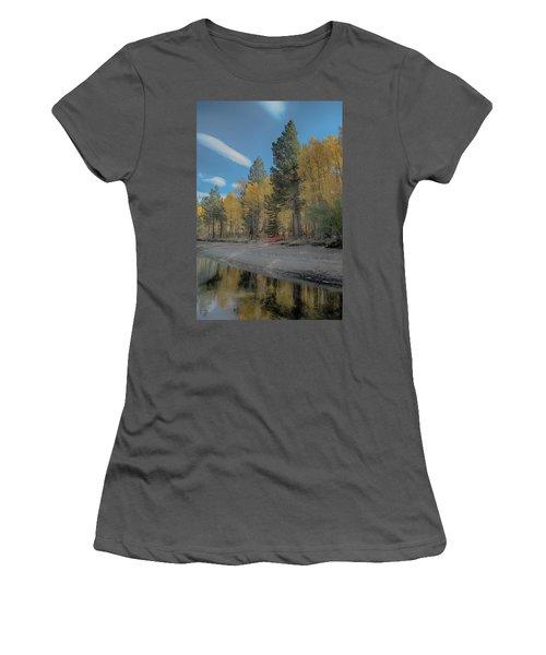 Fall Break Women's T-Shirt (Athletic Fit)