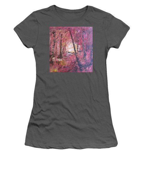 Fall Fire Women's T-Shirt (Athletic Fit)