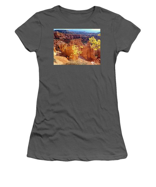 Fall In Bryce Canyon Women's T-Shirt (Athletic Fit)