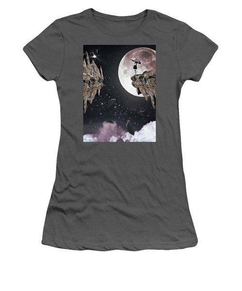 Falling Women's T-Shirt (Junior Cut) by Mihaela Pater