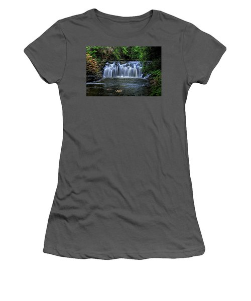 Women's T-Shirt (Junior Cut) featuring the digital art Family Time by Sharon Batdorf