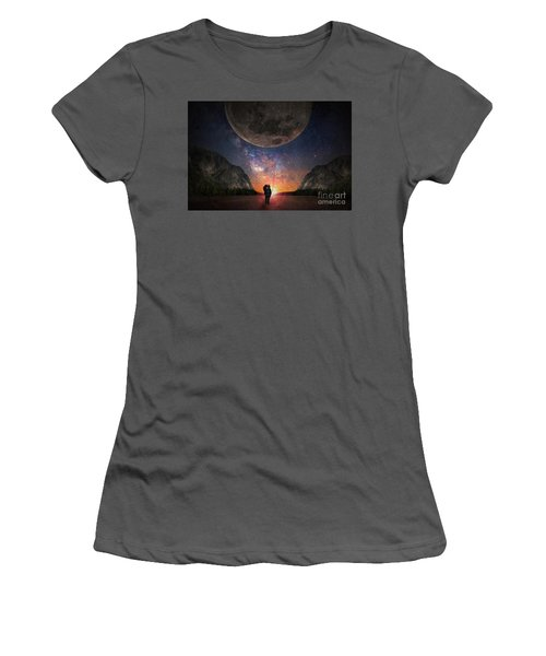 Fantasy Hike Women's T-Shirt (Athletic Fit)