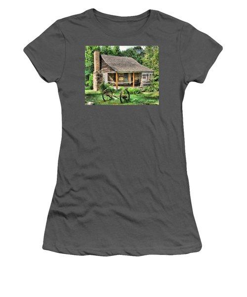 Farm House Women's T-Shirt (Athletic Fit)