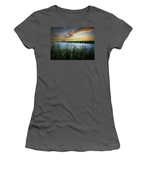 Farm Pond Women's T-Shirt (Athletic Fit)