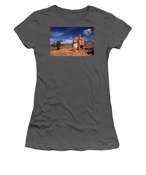 Farmhouse Cottage Ruin Flinders Ranges South Australia Women's T-Shirt (Athletic Fit)