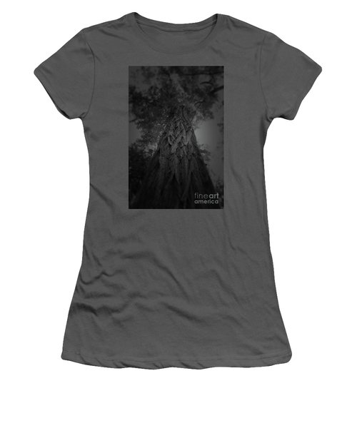 Feathered Bark Women's T-Shirt (Athletic Fit)