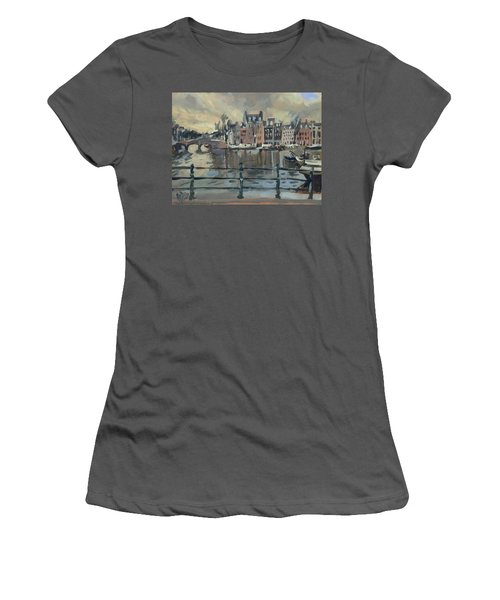 February Morning Along The Amstel Women's T-Shirt (Athletic Fit)