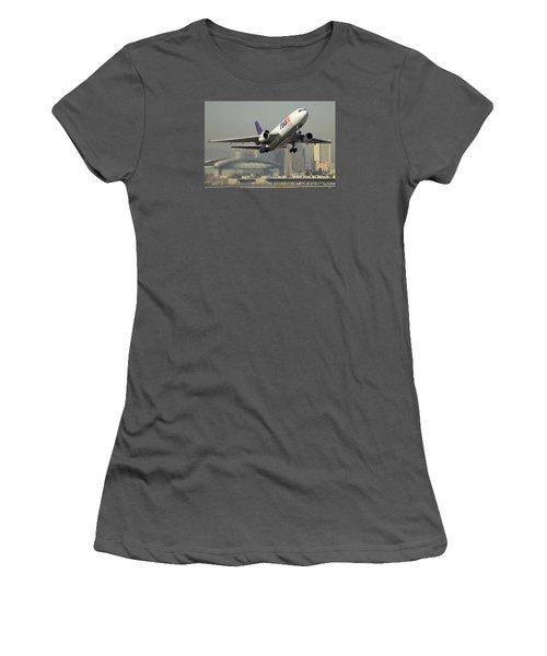 Fedex Express Md-10-10f N10060 Phoenix Sky Harbor December 2 2015 Women's T-Shirt (Athletic Fit)