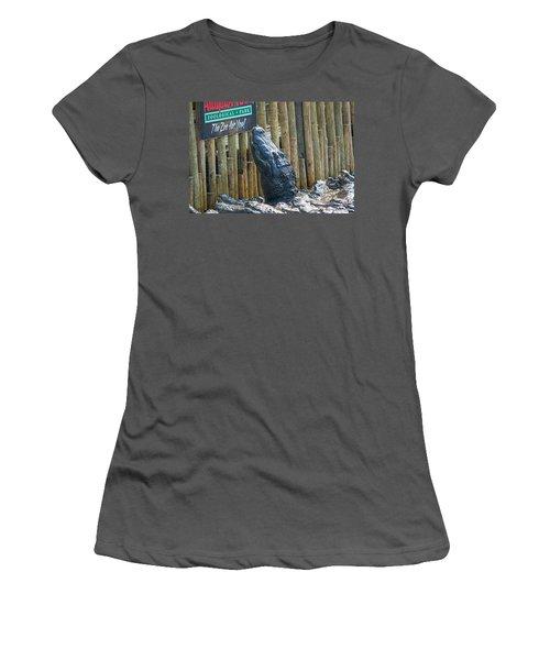 Feed Me Women's T-Shirt (Junior Cut) by Kenneth Albin