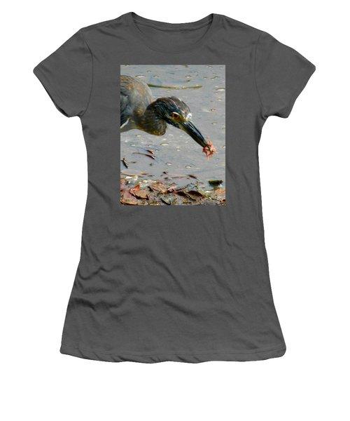 Feeding  Women's T-Shirt (Athletic Fit)