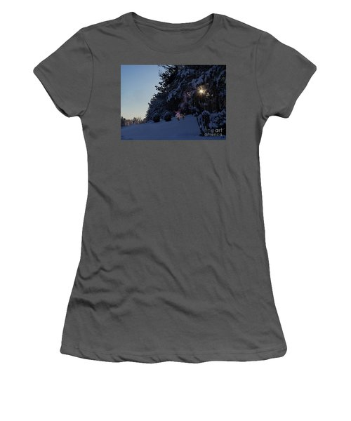 Feeding The Squirrels Women's T-Shirt (Athletic Fit)
