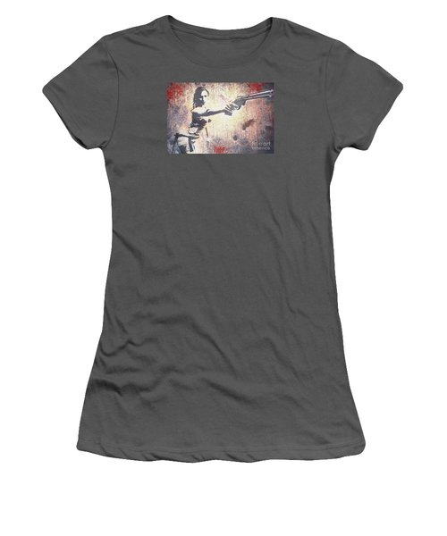 Feeling Lucky? Women's T-Shirt (Junior Cut) by David Bazabal Studios