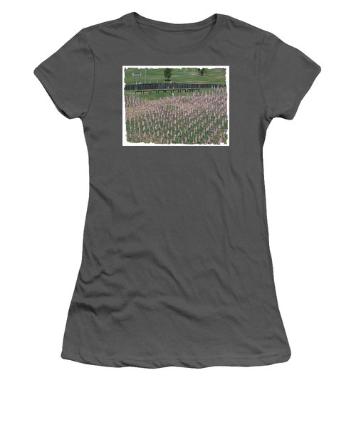 Field Of Flags - Gotg Arial Women's T-Shirt (Athletic Fit)