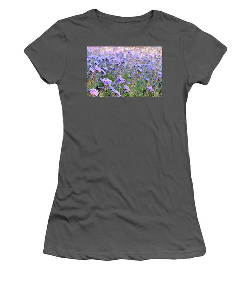Field Of Lavendar Women's T-Shirt (Athletic Fit)